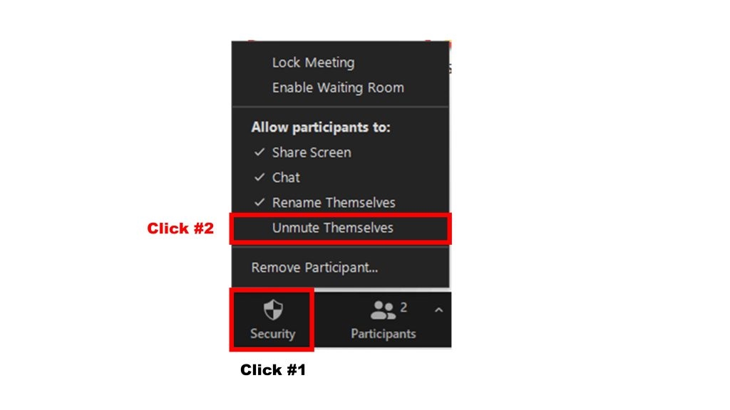 Tips for Zoom meetings: How to prevent participants from unmuting themselves